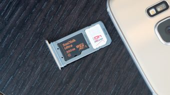 microSD card pentru Galaxy S7